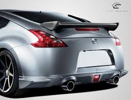 nissan 370z nismo body kit 09 16 fits nissan 370z 2dr n 1 carbon fiber body kit wing spoiler
