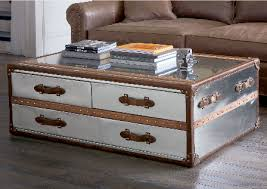 Decorative Trunks For Coffee Tables Inspiration Stainless Steel Trunk Coffee Table For Inspiration To