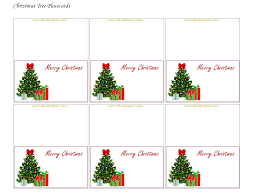 free printable christmas place cards pertaining to name place card