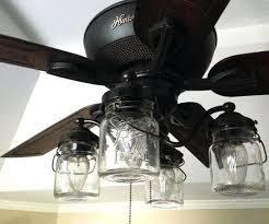 Hampton Bay Black Ceiling Fan by Ceiling Fan Black Ceiling Fan With Spotlights Ceiling Fan With