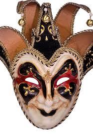 jester mask deluxe jester black masquerade mask