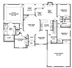 floor plans for a 4 bedroom house 653964 two 4 bedroom 3 bath country style house