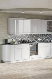 white gloss kitchen unit doors opus kitchen door high gloss light grey