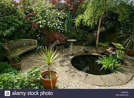 small garden pond summer stock photos u0026 small garden pond summer