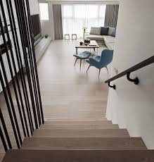 Modern Banister Ideas Modern Staircase With Iron Railing Interior Design Ideas