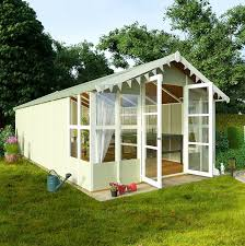 Garden Shed Summer House - large summer house who has the best