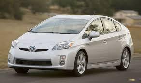 2010 toyota prius type hybridcars com gets 75 3 mpg in 2010 toyota prius