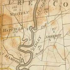Town Map Of Massachusetts by 1801 Carleton Map Massachusetts State Maps