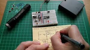 Simple Schematic Electric Cycle Counter 555 Timer Clock Circuit Part 2 With Schematic Youtube