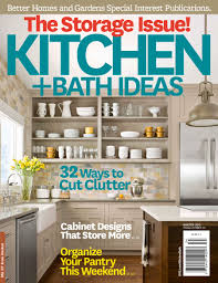 Better Homes And Gardens Kitchen Ideas Kitchen Bath Ideas Magazine To Unveil 30 Most Innovative Products