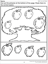 ideas about free printable kindergarten cut and paste worksheets