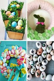 Easter Egg Door Decorations by 40 Decorating Ideas For Easter Decoration With Easter Eggs