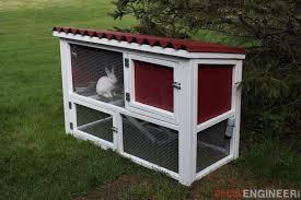 diy rabbit hutch plans free u0026 easy rogue engineer