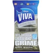 Scrub Viva buy 8 x kleenex viva pk30 kitchen scrub surface wipes 270mm x 180mm