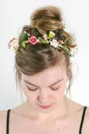 flower band essas frescurites aí diy faixa de flores flower band