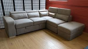 abby sleeper sectional latte by primo
