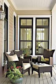Black Trim Windows Decor The Exterior Color Scheme Especially The Black Trim Paired
