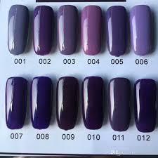 eggplant ink purple nail polish no need top coat new nail art view