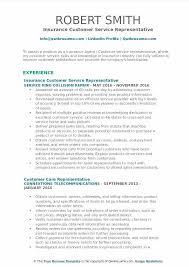 customer service representative resumes insurance representative resume insurance resume sle