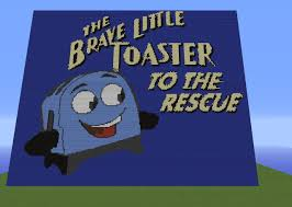 Brave Little Toaster Online The Brave Little Toaster From 1987 Pixel Art Minecraft Project