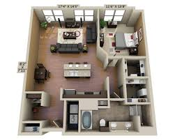 one bedroom apartments floor plans and pricing for domain college park college