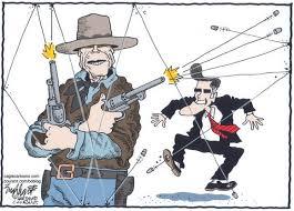 Clint Eastwood Chair Meme - cartoon clint misfires the english blog
