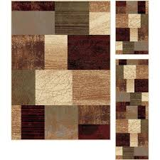 Brown And Beige Area Rug 3 Piece Set Brown Red U0026 Green Area Rug Elegance Rc Willey