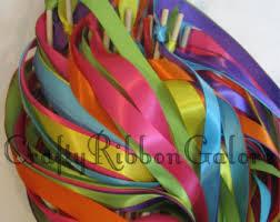 ribbon streamers ribbon streamers etsy