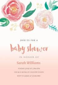 baby girl baby shower free baby shower invitation templates for greetings island