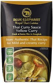elephant cuisine amazon com blue elephant royal cuisine curry sauce yellow