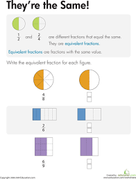 equivalent fractions worksheets pdf u0026 equivalent fractions by