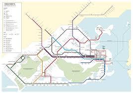Transport Map Guide To Public Transport In Rio Visit Rio De Janeiro City