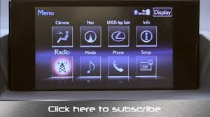 lexus ct200h dab radio 2014 lexus ct 200h hybrid hatchback infotainment review youtube
