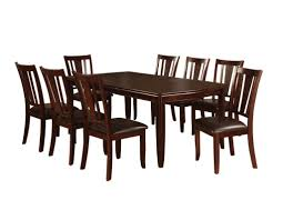 9 piece dining room set furniture of america 9 piece dining table set best dining sets