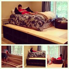 Build Platform Bed Frame With Storage by 83 Best Bedroom Platform Images On Pinterest Platform Beds Home