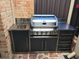 outdoor kitchens perth wa custom made alfresco kitchens em fab