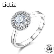 silver zirconia rings images Licliz 6mm 925 sterling silver cubic zirconia rings for women jpg