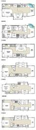 Thor Fifth Wheel Floor Plans by Class C Rv Floor Plans Fleetwood Tioga Class C Motorhome