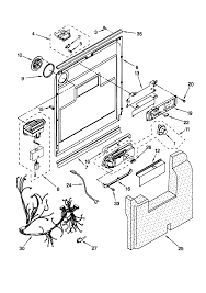 door and latch parts in kenmore dishwasher wiring diagram wiring