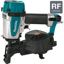Grip Rite Collated Roofing Nails by Makita 1 3 4 In 15 Roofing Coil Nailer An453 The Home Depot