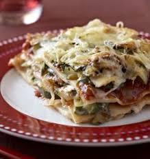 cuisine lasagne facile lasagne de courgettes au st môret recettes lasagne