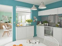peinture cuisine jaune impressionnant peinture cuisine gris avec decoration cuisine bleu et
