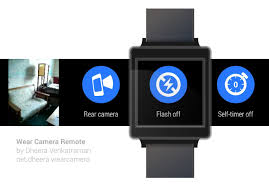 remote control and view your phone camera u2026 android wear