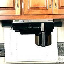 best under cabinet coffee maker under counter coffee maker black under cabinet coffee maker w