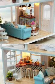 Dolls House Furniture Diy Doll House Furniture Diy Miniature 3d Wooden Miniaturas Dollhouse