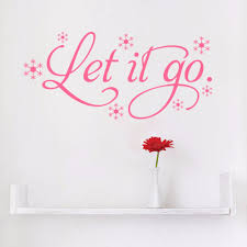 frozen let it go snow wall decals home decoration quote wall frozen let it go snow wall decals home decoration quote wall sticker words decor in wall stickers from home garden on aliexpress com alibaba group