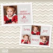 holiday christmas card template for photographers by