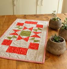 Star Table Christmas Star Table Runner Bp U0026q Current Issue