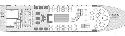 deck floor plan boston cruise ship floor plans spirit cruises