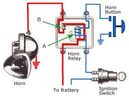 horn relay diagram tech support pinterest horns public and cars